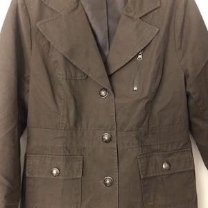 Women's brownish green blazer